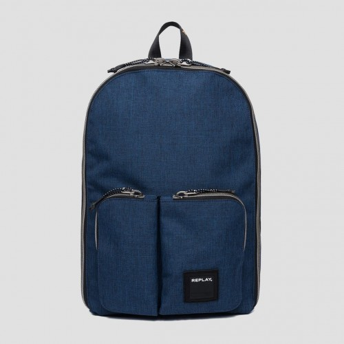 REPLAY DOUBLE POCKET BACKPACK FM3402.000.A0343.499