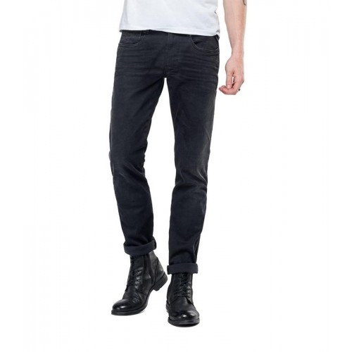 REPLAY ΑΝΔΡΙΚΑ JEANS M914.000.661.E01.098  SLIM FIT HYPERFLEX ANBASS JEANS CLOUDS