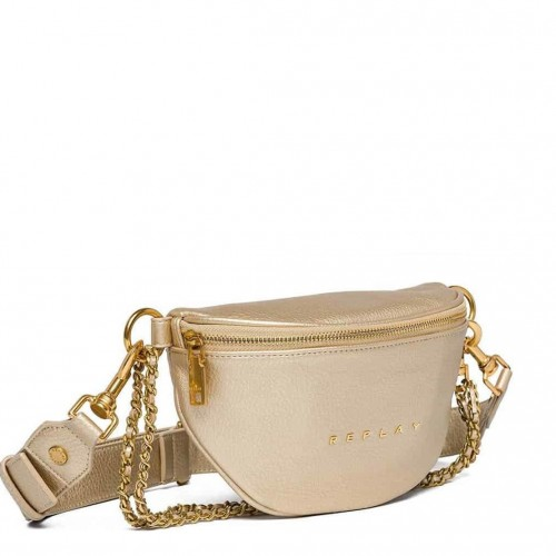 REPLAY ΓΥΝΑΙΚΕΙΟ ΤΣΑΝΤΑ ΜΕΣΗΣ FW3897.000.A0132D-168 GOLD