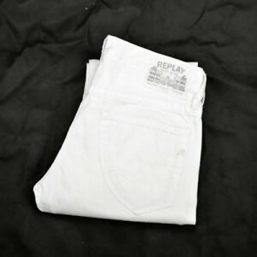 REPLAY COMFORT BULL WHITE DENIM M904.000.8673.01.001