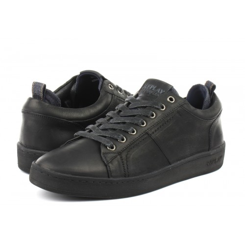 REPLAY ΑΝΔΡΙΚΑ ΔΕΡΜΑΤΙΝΑ SNEAKERS RZ520008L.003 FHAIR