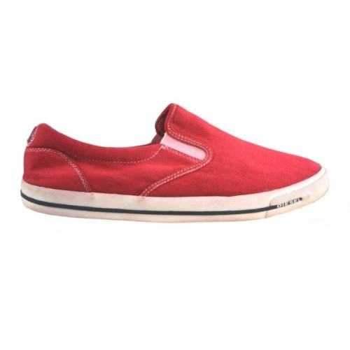 DIESEL ΑΝΔΡΙΚΑ SNEAKERS SLIP-ON Y01049 PR163 T4046 TANGO RED