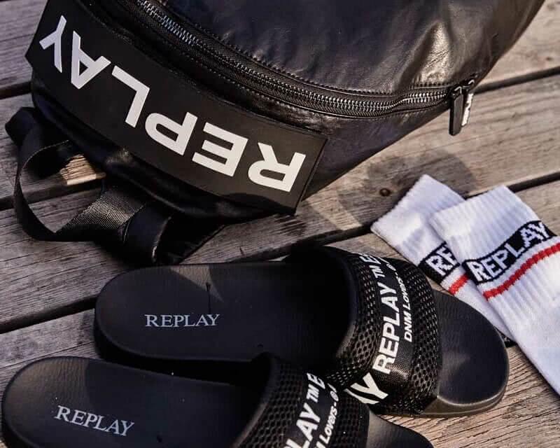 Ανδρικές παντόφλες Replay - Diesel
